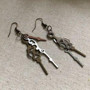 Clockwork earrings